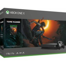 Microsoft Xbox One X 1TB Shadow Tomb Raider