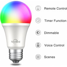GOSUND SMART BULB NITEBIRD WB4, WIFI SMART LED, RGB AND WHITE  E27 2YW/ 06-86-607-001