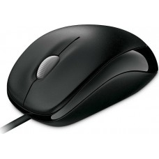 Mouse Microsoft Compact 500 Wired Optical Black