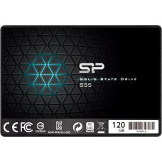 "SILICON POWER SSD S55 120GB, 2.5"", SATA III, 550-420MB/s, 7mm, TLC"