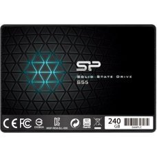 "SILICON POWER SSD S55 240GB, 2.5"", SATA III, 550-450MB/s 7mm, TLC"