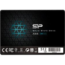 "SILICON POWER SSD A55 512GB, 2.5"", SATA III, 560-530MB/s 7mm, TLC"