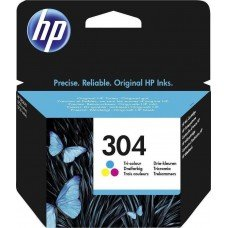 HP Μελάνι Inkjet No.304 Tri-colour /N9K05AE