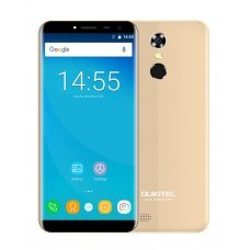 "OUKITEL C8, 5.5"" HD, 2GB/16GB, Quad Core, 3000mAh, Gold"