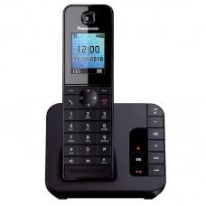 Panasonic KX-TGH220GRB με Αυτόματο Τηλεφωνητή Μαύρο