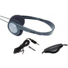 Panasonic RP-HT090 3.5mm Ακουστικά Stereo  Κατάλληλο Για Τηλεοράσεις Με Μήκος Καλωδίου 5m Γκρι