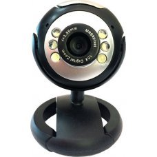 POWERTECH Web Camera 1.3MP, Plug & Play, Black PT-509