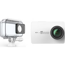 Yi 4K Action Camera with waterproof case White/ Ζ16ΤΖ02ΧΥ