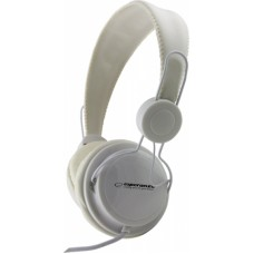 ESPERANZA headphones Sensation EH148W, 3.5mm, 105dB, 3m, λευκά