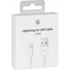 Apple USB to Lightning Cable MD818ZM/A iPhone 7/7 Plus/8/8 Plus 1m (Retail Box)