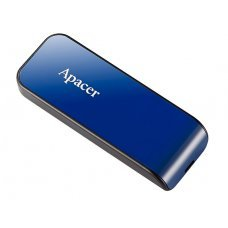 APACER USB Flash Drive AH334, USB 2.0, 64GB, Blue