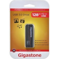 Gigastone Flash Drive UD-3201 128GB Black Professional Series