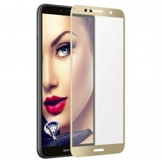 Tempered glass 9H για Huawei Y7 PRIME 2018 (gold)