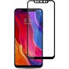 5D Full Face Tempered Glass Black για Xiaomi Mi 8