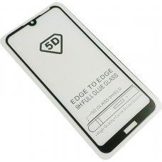 POWERTECH Tempered Glass 5D Full Glue  Huawei Y6/Prime/Pro 2019 Black