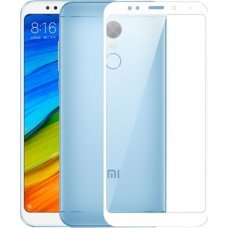 OEM Tempered Glass Full Cover για Xiaomi 5 Plus White