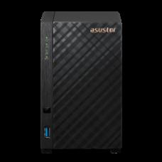 ASUSTOR NAS DRIVESTOR 2 AS1102T, DT, 2 BAYS, REALTEK RTD1296 1.4GHz QC, 1GB DDR4, 2xUSB3.0, 2.5GbEx1, WoL, WoW, 3YW.