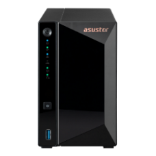 ASUSTOR NAS DRIVESTOR 2 PRO AS3302T, DT, 2 BAYS HOT SWAP, REALTEK RTD1296 1.4GHz QC, 2GB DDR4, 3xUSB3.0, 2.5GbEx1, WoL, WoW, 3YW.