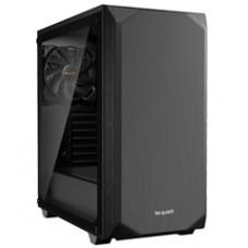 BEQUIET PC CHASSIS PURE BASE 500 WINDOW BGW34, MIDI TOWER ATX, BLACK, W/O PSU, 1X14CM PURE WINGS 2 FAN, 1X14CM REAR PURE WINGS 2 FAN, 3YW.