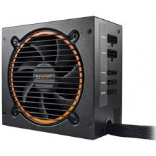 BEQUIET PSU PURE POWER 11 CM 600W BN298, GOLD CERTIFIED, SEMI-MODULAR AND FLAT CABLES, 12CM QUIET & COOL FAN, 5YW.