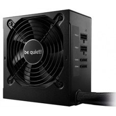 BEQUIET PSU SYSTEM POWER 9 CM 500W BN301, BRONZE CERTIFIED, SEMI-MODULAR AND FLAT CABLES, 12CM QUIET & COOL FAN, 3YW.
