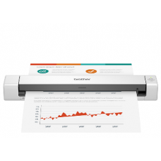 BROTHER SCANNER DS-640, MOBILE SINGLE SIDED A4, 15 PPM, USB, 3YW.