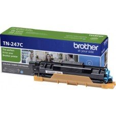BROTHER TONER TN-247C Cyan, High Yield 2300 PAGES (DCP-L3510CDW, DCP-L3550CDW, HL-L3210CW, HL-L3230CDW, HL-L3270CDW, MFC-L3730CDN, MFC-L3750CDW, MFC-L3770CDW)