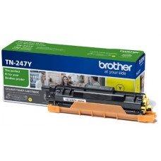 BROTHER TONER TN-247Y Yellow, High Yield 2300 PAGES(DCP-L3510CDW, DCP-L3550CDW, HL-L3210CW, HL-L3230CDW, HL-L3270CDW, MFC-L3730CDN, MFC-L3750CDW, MFC-L3770CDW)