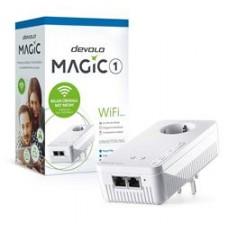 DEVOLO POWERLINE MAGIC 1 WIFI 2-1-1 EU SINGLE (8358), 1x MAGIC 1 WiFi (WIRELESS) ADAPTER, 1200Mbps, SHUKO, AC POWER OUT SOCKET, 3YW.