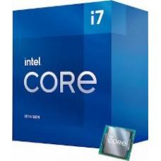 INTEL CPU CORE i7 11700F, 8C/16T, 2.50GHz, CACHE 16MB, SOCKET LGA1200 11th GEN, BOX, 3YW.