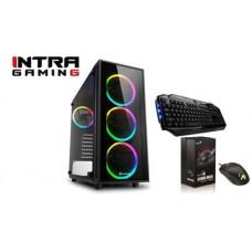 INTRA PC GAMING, INTEL CORE i5 10400F, 16GB DDR4 2666MHz, NVIDIA VGA GF GTX1660 6GB, 512GB SSD NVMe, LAN GB, MIDI TOWER, 600W PSU, MS WIN10 HOME, 3YW.