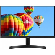 """LG MONITOR 24MK600M-B, LCD TFT IPS LED, 23.8"""", 16:9, 250 CD/M2, 5.000.000:1, 5MS, 1920x1080, 2xHDMI/D-SUB/HP OUT, 3YW & 0 PIXEL."""