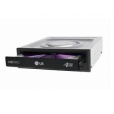LG DVD R/RW HLDS GH24NSD5, INTERNAL, SATA, 24x, DL, BLACK, BULK, 2YW.