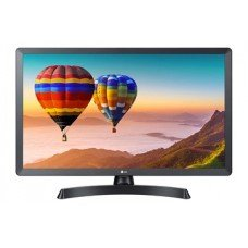 """LG MONITOR TV 28TN515V-PZ, LCD TFT LED, WIDE VIEWING ANGLE, 27.5"""", 16:9, 250 CD/M2, 5.000.000:1, 5MS, 1366x768, HDMI/CI/USB/DVB-T/C/S2, 2x5WATT, BLACK, 2YW & 0 PIXEL."""