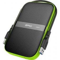SILICON POWER EXTERNAL HDD 2,5'' 4TB ARMOR A60, USB3.1, POWER VIA USB, BLACK, 3YW.