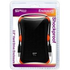 "SILICON POWER EXTERNAL HDD 2.5"" 1TB ARMOR A30, USB3.0, 5400RPM, POWER VIA USB, BLACK, 3YW."