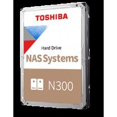 "TOSHIBA HDD 3,5"" 4TB NAS N300 HDWG440UZSVA, SATA3, 7200 RPM, CACHE 128 MB, 3YW."